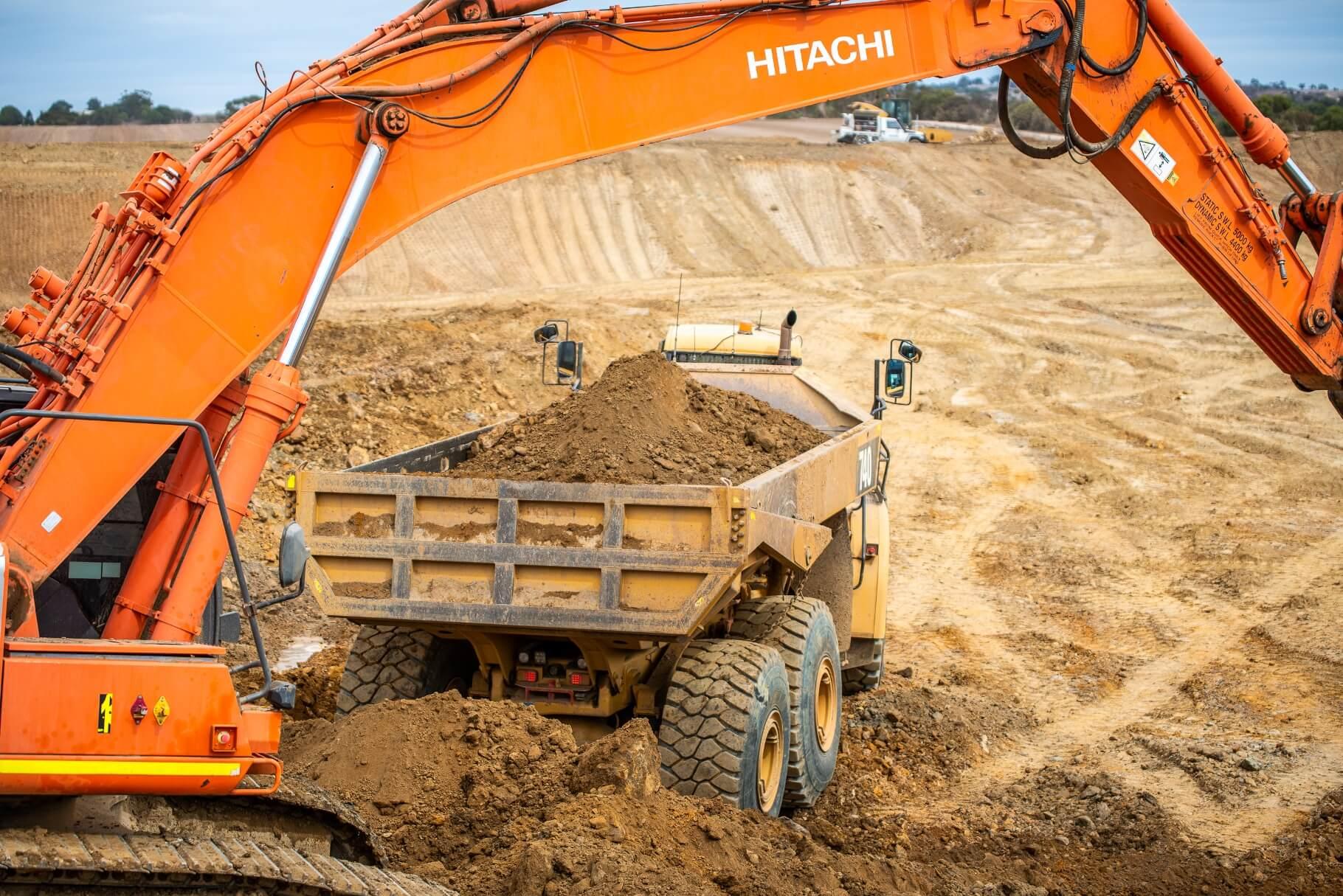 Hunter Bros - Barossa Valley Storage Dam Project Exc Arm